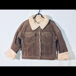 Corduroy Lined Jacket